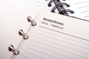 Goals note image