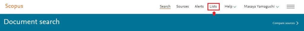 Document search top bar